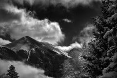 Άνεμος ρεύμα βουνών έξω από Telluride, Κολοράντο, καλοκαίρι Στοκ φωτογραφίες με δικαίωμα ελεύθερης χρήσης