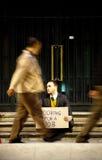 άνεργο άτομο στοκ φωτογραφία με δικαίωμα ελεύθερης χρήσης