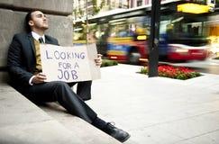 άνεργο άτομο στοκ εικόνες με δικαίωμα ελεύθερης χρήσης