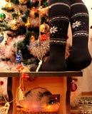 Άνεση Χριστουγέννων όμορφη στοκ εικόνα