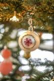 Άνετη διακόσμηση Χριστουγέννων Στοκ Εικόνα