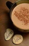 Άνετη καυτή σοκολάτα Στοκ Εικόνες