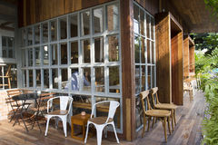 Άνετο σπίτι καφέ Στοκ φωτογραφία με δικαίωμα ελεύθερης χρήσης