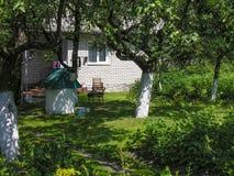 Άνετο patio Στοκ φωτογραφίες με δικαίωμα ελεύθερης χρήσης