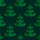 άνευ ραφής δέντρο προτύπων Στοκ Εικόνες