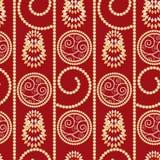άνευ ραφής έτος προτύπων Χρ&iota Στοκ εικόνες με δικαίωμα ελεύθερης χρήσης