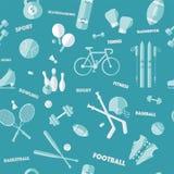 άνευ ραφής αθλητισμός προτύπων απεικόνιση αποθεμάτων