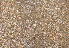 Άνευ ραφής αμμοχάλικο υποβάθρου σύστασης Πέτρινο πάτωμα στοκ φωτογραφία με δικαίωμα ελεύθερης χρήσης