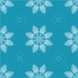 Άνευ ραφής αναδρομικά λουλούδια καλειδοσκόπιων Στοκ εικόνες με δικαίωμα ελεύθερης χρήσης