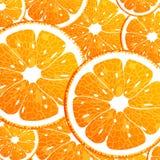 Άνευ ραφής ανασκόπηση με το πορτοκάλι Στοκ Εικόνα