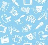 Άνευ ραφής ανασκόπηση των τεχνών απεικόνιση αποθεμάτων