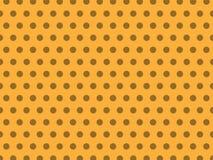 Άνευ ραφής ανοικτό κίτρινο σχέδιο υποβάθρου σημείων κρητιδογραφιών απεικόνιση αποθεμάτων