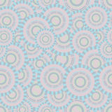 Άνευ ραφής απεικόνιση με τους κύκλους που έκαναν σε μια βάση Βικτώρια Στοκ φωτογραφία με δικαίωμα ελεύθερης χρήσης