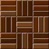 Άνευ ραφής απεικόνιση του ξύλινου δαπέδου παρκέ Στοκ Εικόνες