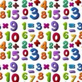Άνευ ραφής αριθμοί Στοκ Εικόνα