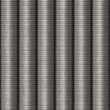 Άνευ ραφής ασήμι νομισμάτων υποβάθρου Στοκ Φωτογραφίες