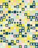 άνευ ραφής αστέρια προτύπων στοκ εικόνες με δικαίωμα ελεύθερης χρήσης