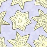 άνευ ραφής αστέρι παρεμβο&la Στοκ Εικόνες
