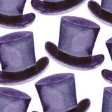 Άνευ ραφής ατόμων σχεδίων headdress, τοπ καπέλο η διακοσμητική εικόνα απεικόνισης πετάγματος ραμφών το κομμάτι εγγράφου της καταπ στοκ εικόνες με δικαίωμα ελεύθερης χρήσης