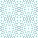 Άνευ ραφής αφηρημένα κύματα σχεδίων μπλε και άσπρα διανυσματική απεικόνιση