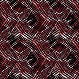 Άνευ ραφής αφηρημένες χαοτικές γραμμές, σκούρο κόκκινο υπόβαθρο Απεικόνιση αποθεμάτων