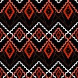 Άνευ ραφής αφηρημένη γεωμετρική ΤΣΕ σύστασης σχεδίων rhombuses τετραγωνική Στοκ Εικόνα