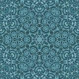 Άνευ ραφής αφηρημένη διακοσμητική τυπωμένη ύλη μωσαϊκών σχεδίων kaleidoscopic Στοκ εικόνα με δικαίωμα ελεύθερης χρήσης
