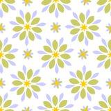 Άνευ ραφής αφηρημένη floral σύσταση επικεράμωσης Στοκ Εικόνες