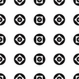 Άνευ ραφής αφηρημένο γεωμετρικό διανυσματικό απλό σχέδιο σχεδίων Στοκ φωτογραφία με δικαίωμα ελεύθερης χρήσης