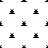 Άνευ ραφής αφηρημένο γεωμετρικό διανυσματικό απλό σχέδιο σχεδίων Στοκ Εικόνες