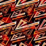 Άνευ ραφής αφηρημένο γεωμετρικό υπόβαθρο χρώματος για το σχέδιό σας Στοκ Εικόνα