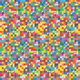 Άνευ ραφής αφηρημένο ζωηρόχρωμο γεωμετρικό πρότυπο απεικόνιση αποθεμάτων