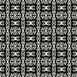 Άνευ ραφής αφηρημένο διανυσματικό γεωμετρικό σχέδιο στο μονοχρωματικό backgro απεικόνιση αποθεμάτων