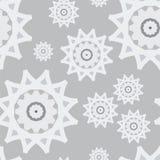 Άνευ ραφής αφηρημένο νέο έτος χιονιού σχεδίων άσπρο γκρίζο Στοκ φωτογραφίες με δικαίωμα ελεύθερης χρήσης