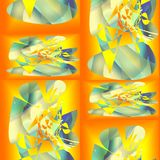 Άνευ ραφής αφηρημένο σχέδιο των γραμμών και των σημείων διανυσματική απεικόνιση