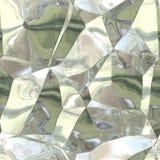 Άνευ ραφής αφηρημένο σχέδιο του ασημένιος-χρυσού χαλασμένου φύλλου αλουμινίου ελεύθερη απεικόνιση δικαιώματος