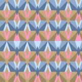 Άνευ ραφής αφηρημένο σχέδιο τριγώνων Στοκ Φωτογραφία