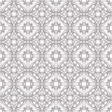 Άνευ ραφής αφηρημένο floral σχέδιο Γεωμετρική διακόσμηση λουλουδιών ελεύθερη απεικόνιση δικαιώματος
