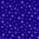 Άνευ ραφής αφηρημένο snowflake σχέδιο Στοκ φωτογραφία με δικαίωμα ελεύθερης χρήσης
