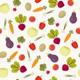 άνευ ραφής λαχανικά προτύπ&omeg ελεύθερη απεικόνιση δικαιώματος