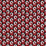 Άνευ ραφής αλυσίδα δαχτυλιδιών σχεδίων ζωηρόχρωμη Στοκ φωτογραφία με δικαίωμα ελεύθερης χρήσης