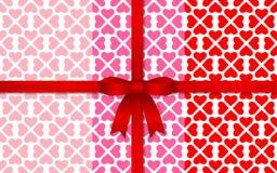 άνευ ραφής βαλεντίνος πρ&omicron Στοκ φωτογραφίες με δικαίωμα ελεύθερης χρήσης