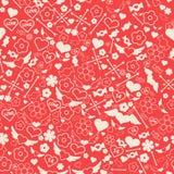 άνευ ραφής βαλεντίνος πρ&omicron διανυσματική απεικόνιση