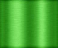 Άνευ ραφής βούρτσα μετάλλων σύστασης πράσινη Στοκ φωτογραφία με δικαίωμα ελεύθερης χρήσης