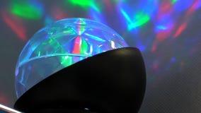Άνευ ραφής βρόχος επίδρασης σφαιρών κρυστάλλου απόθεμα βίντεο