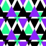 Άνευ ραφής γεωμετρική περίληψη υποβάθρου σχεδίων τριγώνων φωτεινή Στοκ φωτογραφία με δικαίωμα ελεύθερης χρήσης