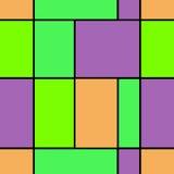 Άνευ ραφής γεωμετρική περίληψη υποβάθρου σχεδίων τριγώνων φωτεινή Στοκ Φωτογραφίες