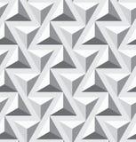 Άνευ ραφής γεωμετρικός επιλέγει σύσταση τριγώνων Στοκ Εικόνες