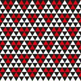 Άνευ ραφής γεωμετρικό αφηρημένο υπόβαθρο σύστασης σχεδίων τριγώνων διανυσματική απεικόνιση