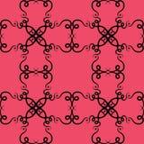 Άνευ ραφής γεωμετρικό διανυσματικό πρότυπο Στοκ φωτογραφίες με δικαίωμα ελεύθερης χρήσης